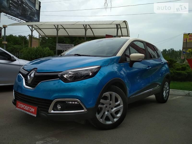 Renault Captur 2015 года