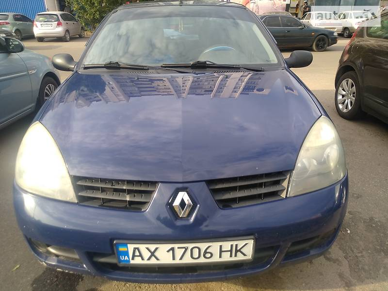Седан Renault Clio 2007 в Харькове