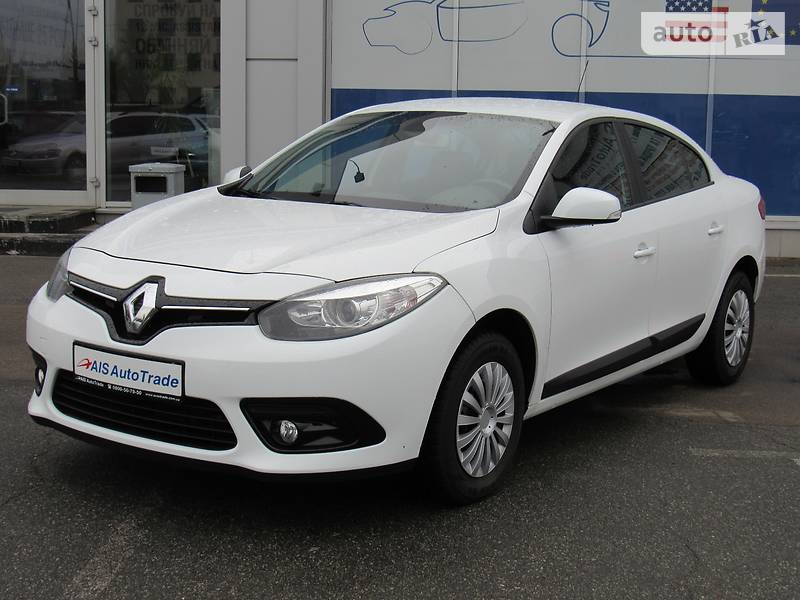 Renault Fluence 2013 года
