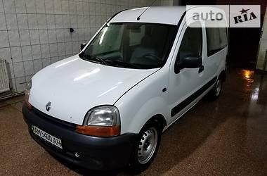 Renault Kangoo пасс. 2001 в Белой Церкви