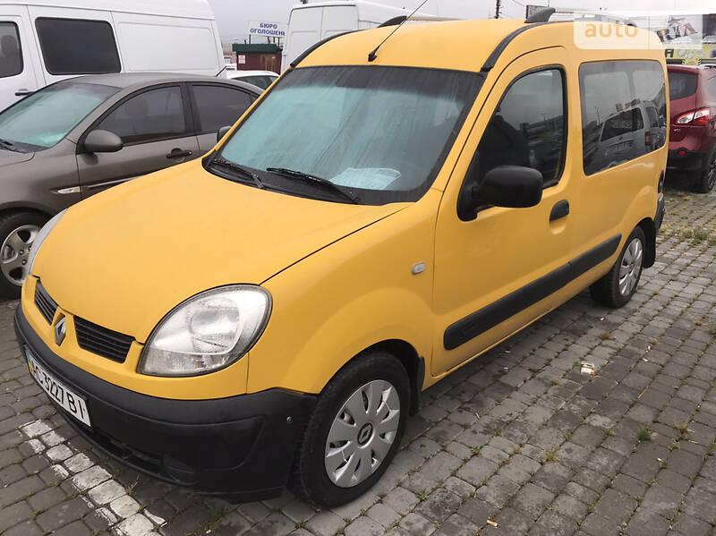 Renault Kangoo пасс. 2007 в Черновцах