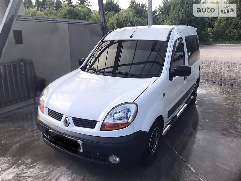 Renault Kangoo пасс. Comfort