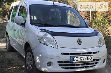 Легковой фургон (до 1,5 т) Renault Kangoo пасс. 2012 в Николаеве