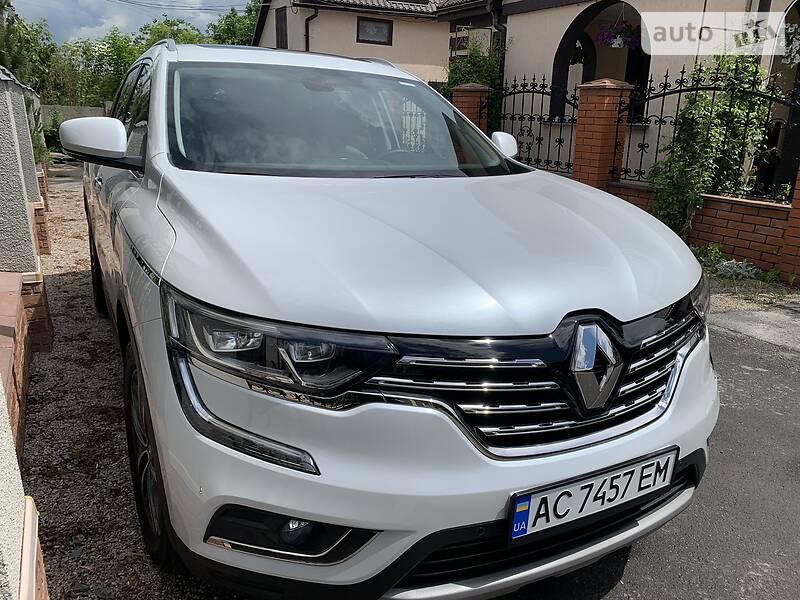 Внедорожник / Кроссовер Renault Koleos 2018 в Гадяче