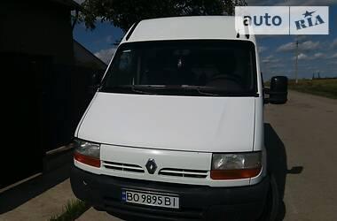 Легковий фургон (до 1,5т) Renault Master груз.-пасс. 2001 в Тернополі