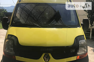Renault Master груз. 2010 в Тячеве