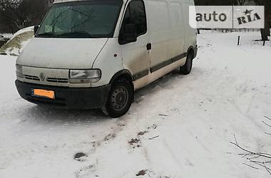 Renault Master груз. 2002 в Львове