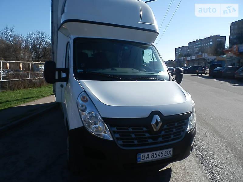 Тентований Renault Master груз. 2015 в Кропивницькому