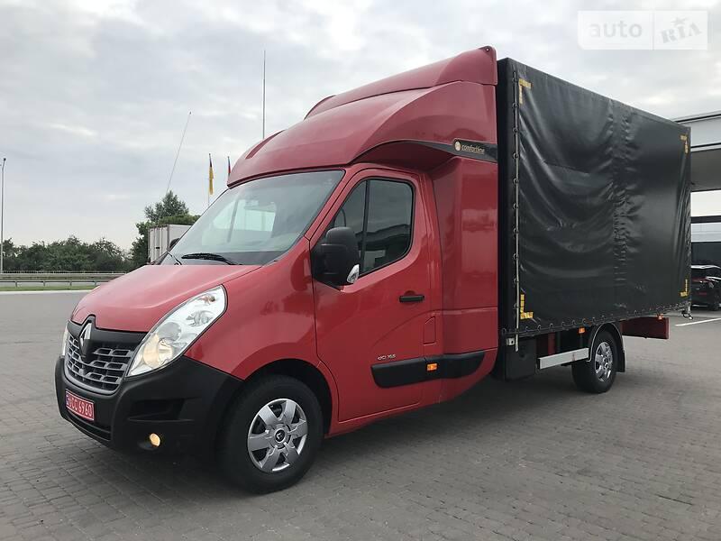 Тентованый Renault Master груз. 2017 в Ровно