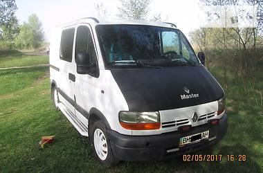 Renault Master пасс. 2001 в Сумах