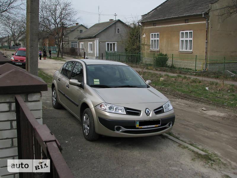 Renault Megane 2008 в Львове