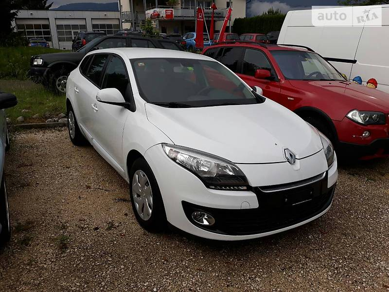 Renault Megane 2013 года