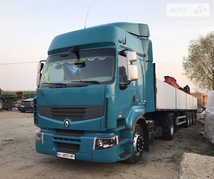 Renault Premium + П/П Манипулятор