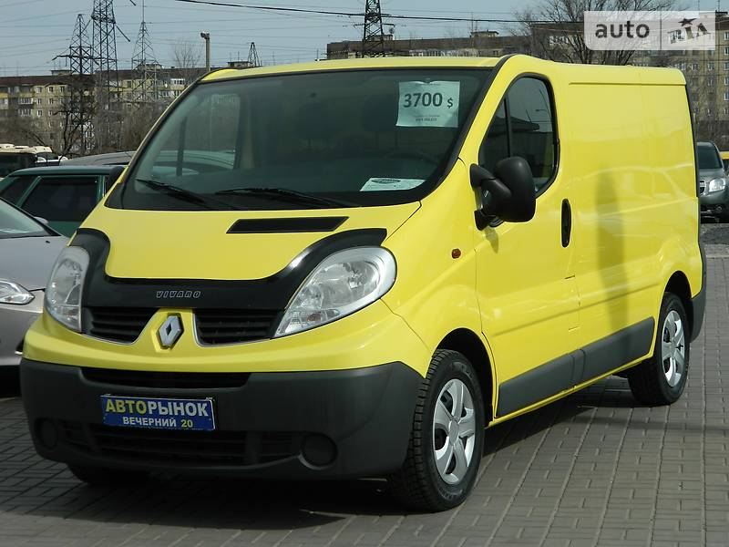Renault Trafic 2008 года