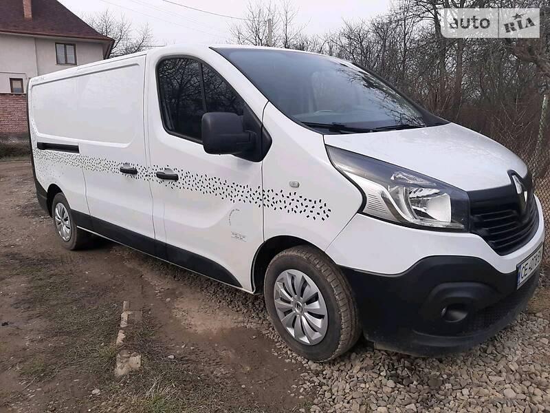 Легковий фургон (до 1,5т) Renault Trafic груз. 2017 в Чернівцях