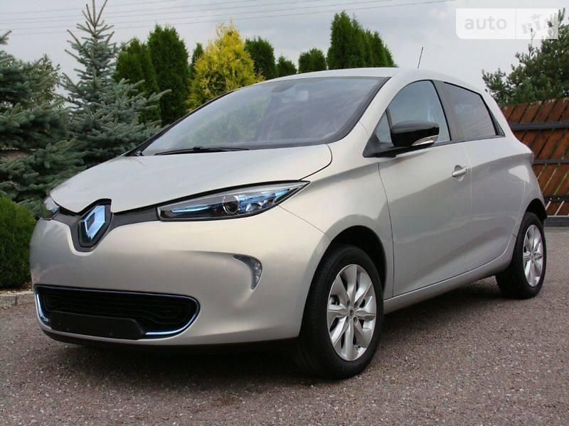 Renault Zoe 2015 года