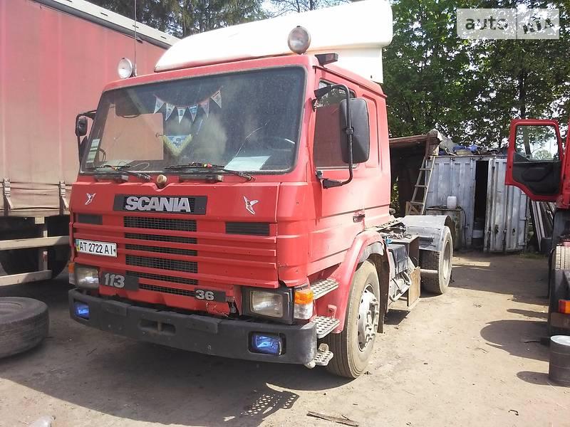 Scania 113M 1993 в Ивано-Франковске