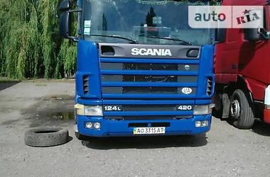 Scania 124 2001 в Ужгороде