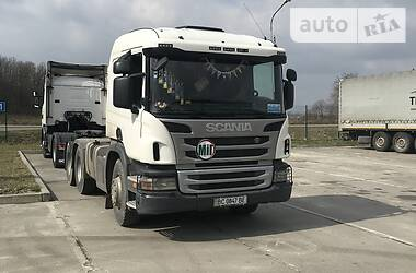 Scania P 2013 в Львове