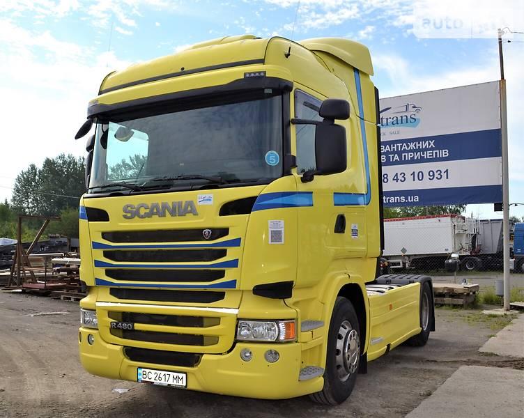 Тягач Scania R 480 2013 в Львове