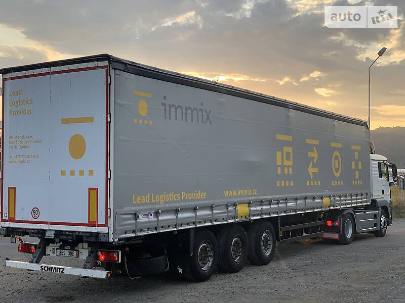 Schmitz Cargobull Cargobull Pidjomna osy