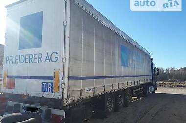 Тентованный борт (штора) - полуприцеп Schmitz Cargobull S01 2007 в Ковеле