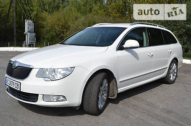Skoda SuperB New 2011 в Луцьку