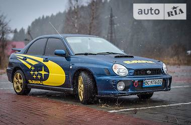 Subaru Impreza  WRX STI 2001 в Львове