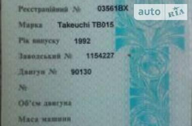 Takeuchi TB 1992 в Ровно