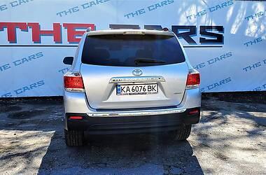 Внедорожник / Кроссовер Toyota Highlander 2012 в Киеве