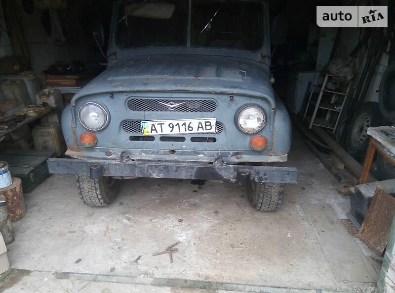 Кабріолет УАЗ 3151 1988 в Надвірній