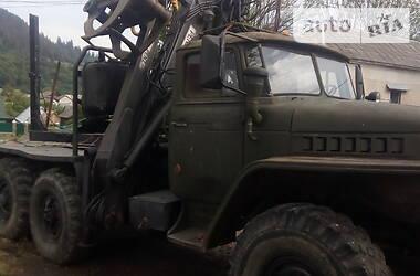 Урал 375 1990 в Межгорье