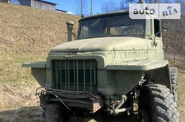 Шасі Урал 375 1985 в Верховині