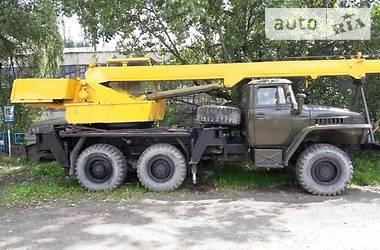 Урал 4320 1991 в Верховине