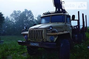 Урал 4320 1994 в Надворной