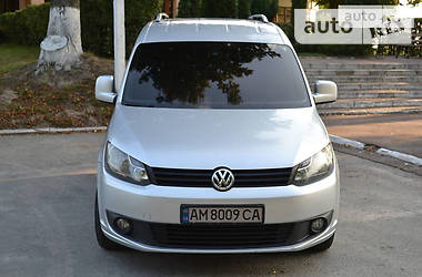 Volkswagen Caddy груз. 2012 в Радивиліві