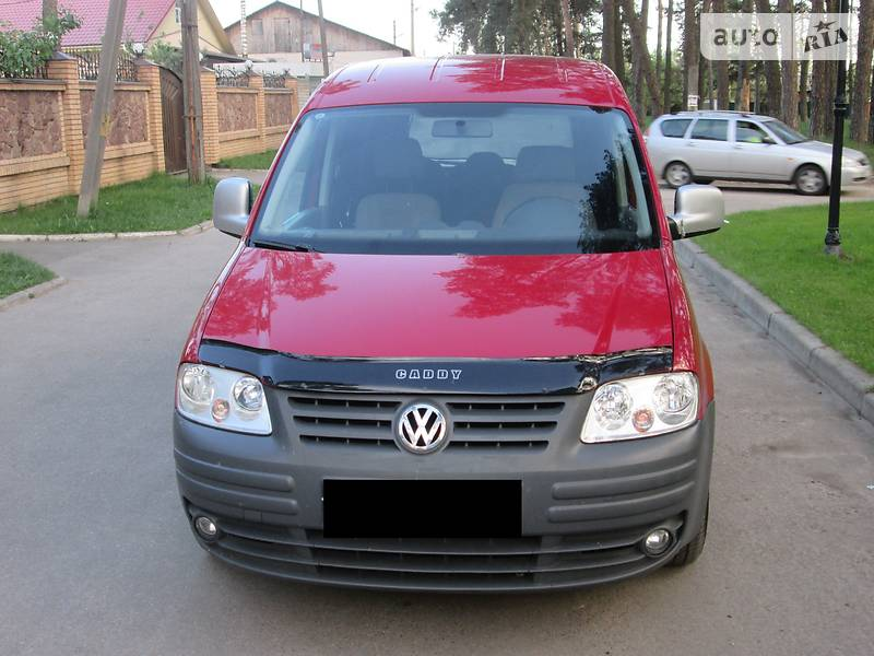 Volkswagen Caddy пасс. 2007 в Чернигове