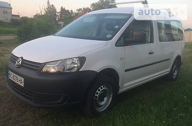 Volkswagen Caddy пасс. 2010 в Самборе
