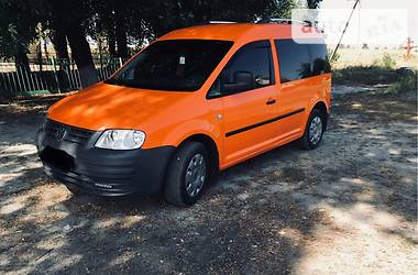 Volkswagen Caddy пасс. 2009 в Полтаве