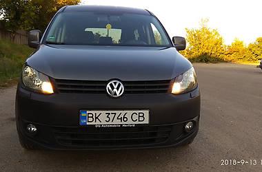 Минивэн Volkswagen Caddy пасс. 2014 в Ровно