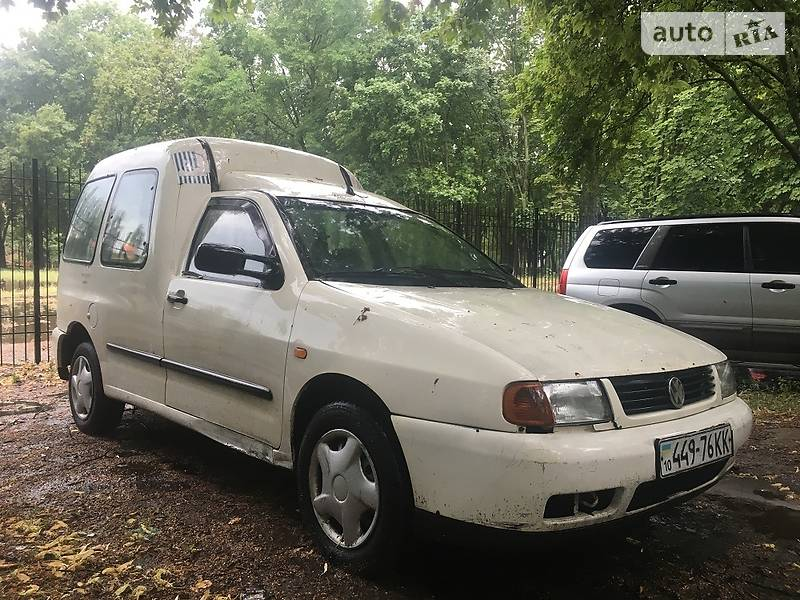 Volkswagen Caddy пасс. 1998