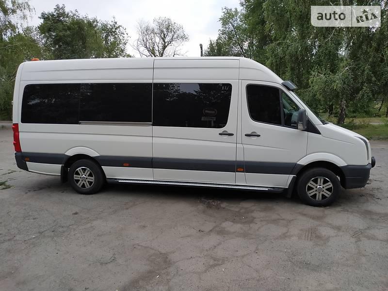 Мікроавтобус (від 10 до 22 пас.) Volkswagen Crafter пас 2011 в Кривому Розі