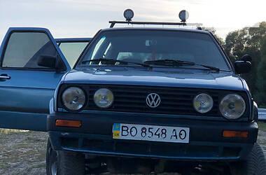 Хэтчбек Volkswagen Golf II 1991 в Залещиках
