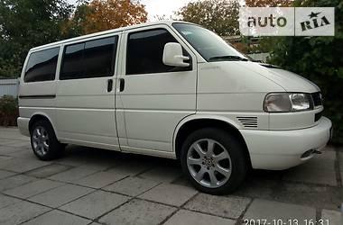 Volkswagen Multivan 4X4 Syncro 1998