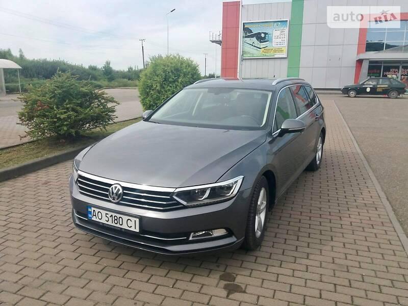 Унiверсал Volkswagen Passat B8 2014 в Виноградові