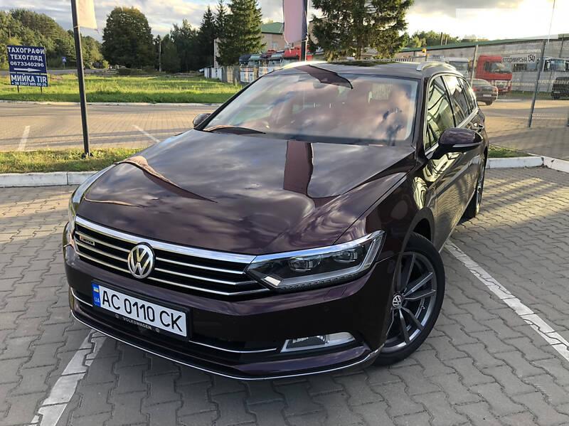 Универсал Volkswagen Passat B8 2015 в Ковеле