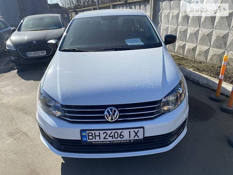 Седан Volkswagen Polo 2019 в Одесі