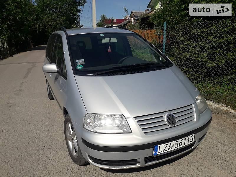 Volkswagen Sharan 2001 в Львове