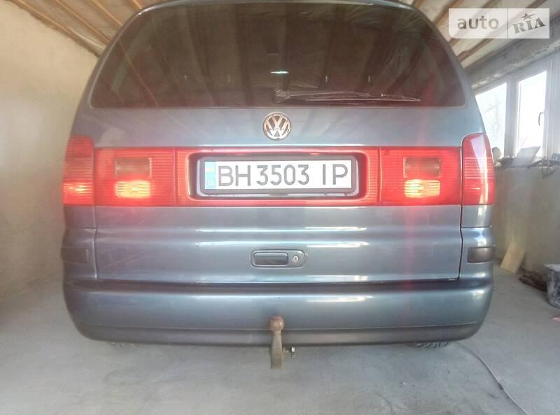 Мінівен Volkswagen Sharan 2001 в Одесі