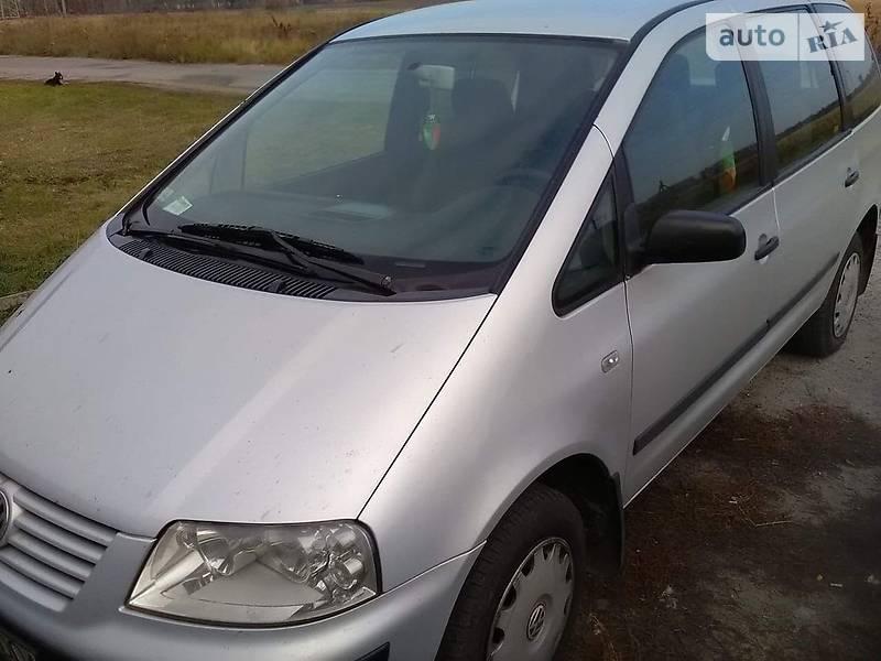 Мінівен Volkswagen Sharan 2000 в Фастові